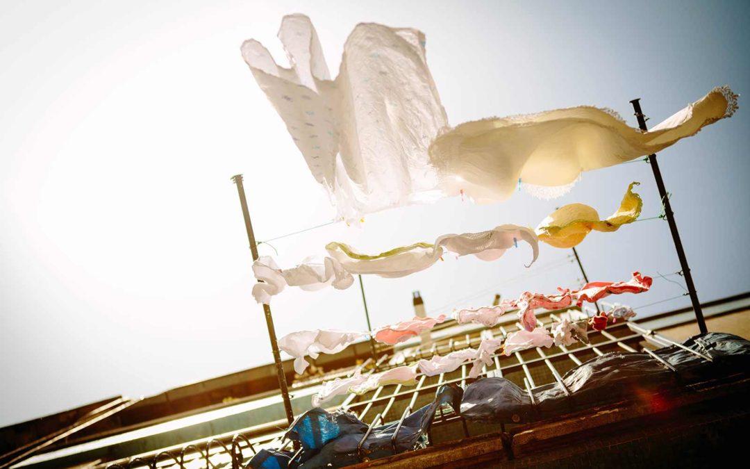 Vask dyne og hovedpude efter behov