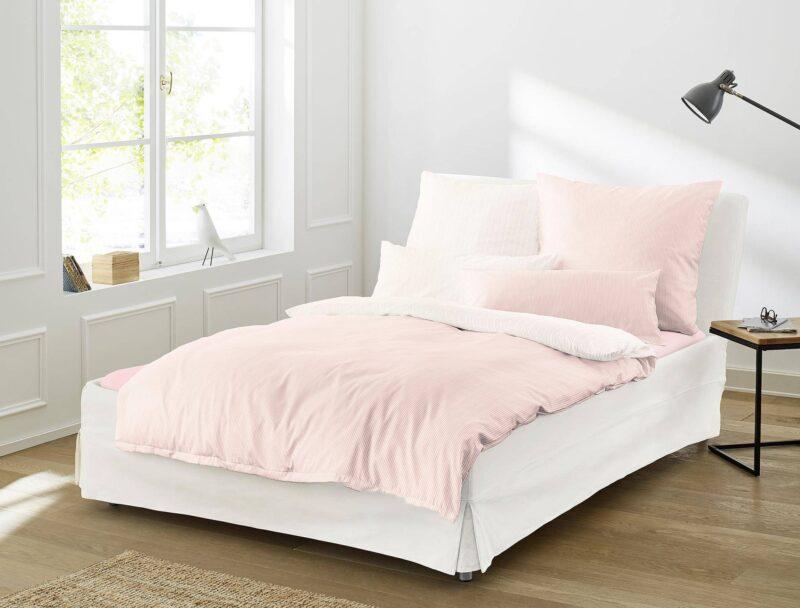 Irisette rose sengesæt