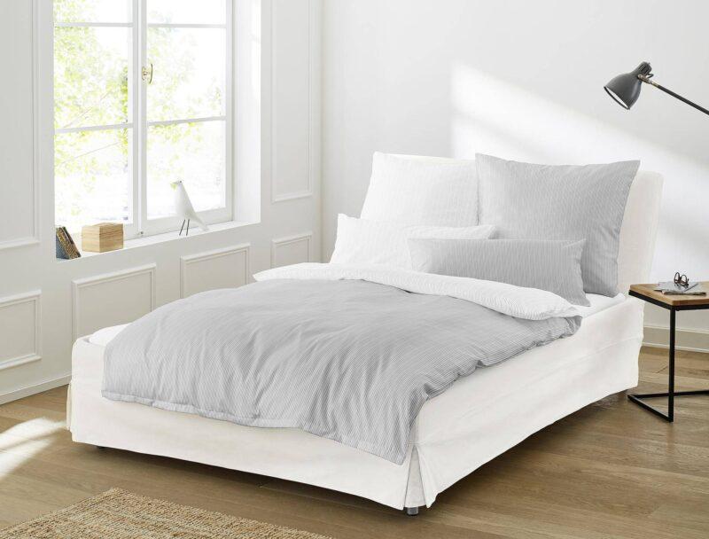 Irisette sølv sengesæt
